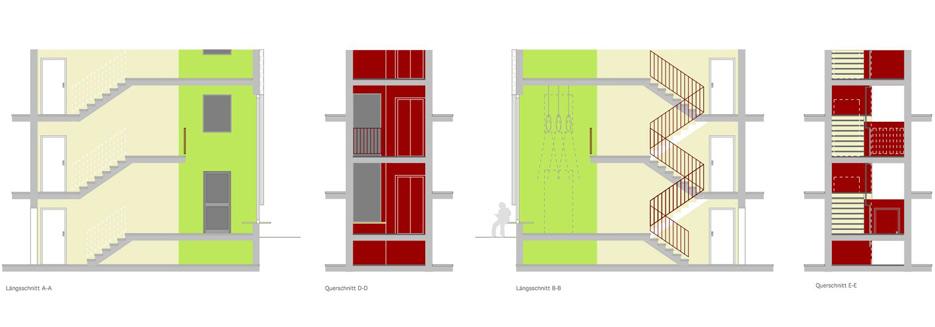 Tatort-Sol-Konzept-Treppe